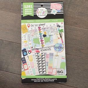 HAPPY PLANNER Travel Sticker Book